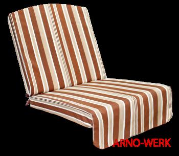 Подушка-кресло для 3-х местных качелей Элит Люкс (Элит Стандарт) ШОКОЛАД